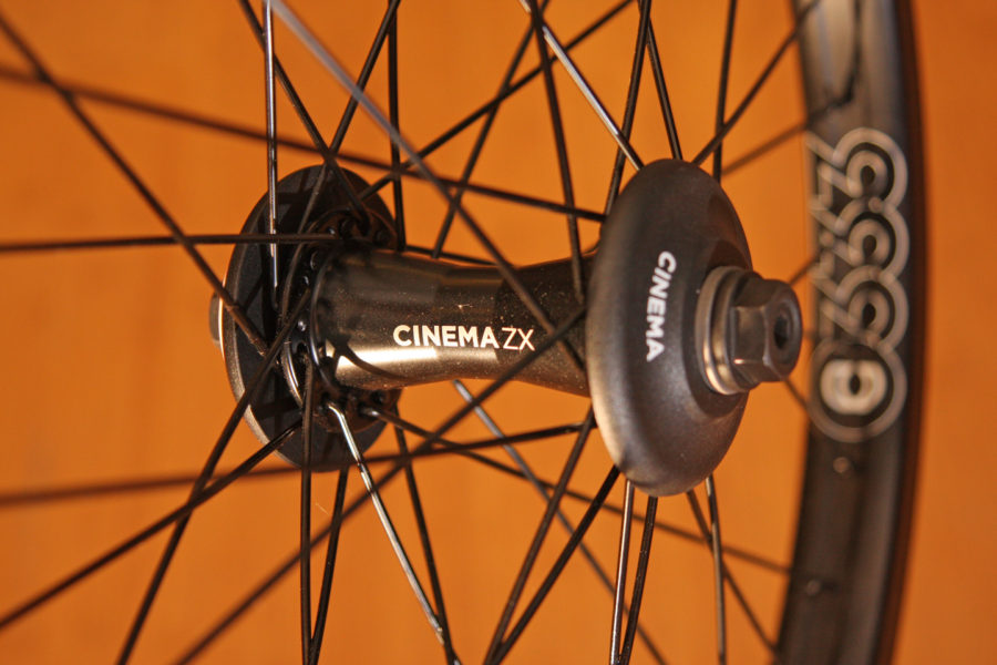 cinema zx333 front wheel w gaurds 2