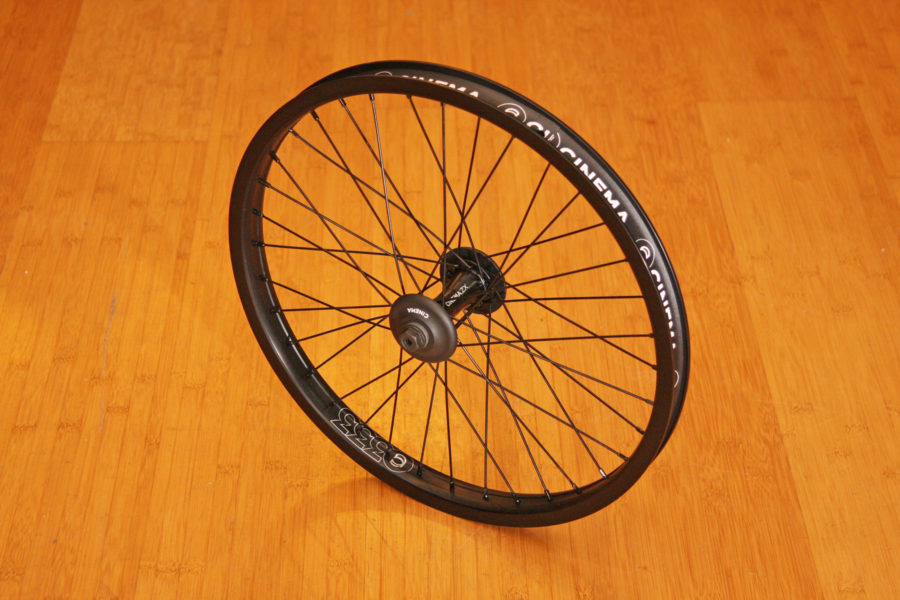 cinema zx333 front wheel w gaurds