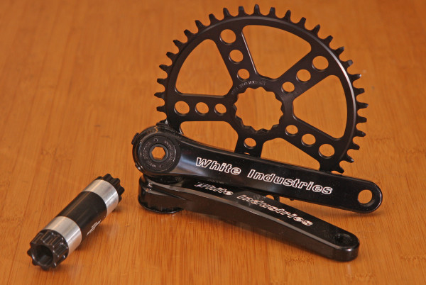 white industries cranks blk